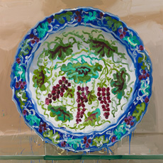 2012 35 iznik -bunches-of-grapes